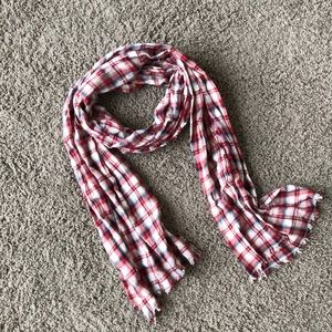 Gap Plaid Scarf/Wrap, 99% cotton
